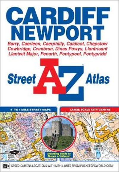Cardiff & Newport Street Atlas - Geographers' A-Z Map Company
