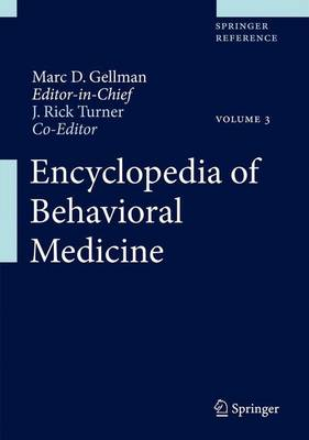 Encyclopedia of Behavioral Medicine - Marc Gellman