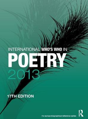 International Who's Who in Poetry - Europa Publications