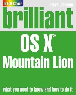 Brilliant OS X Mountain Lion - Steve Johnson