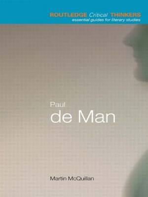 Paul de Man - Martin McQuillian