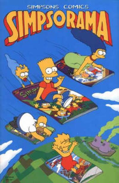 Simpsons Comics Simps-o-rama - Matt Groening