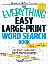 The Everything Easy Large-Print Word Search Book, Volume II - Charles Timmerman