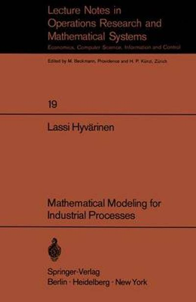Mathematical Modeling for Industrial Processes - L.P. Hyvarinen