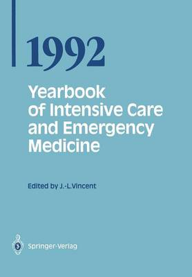 Yearbook of Intensive Care and Emergency Medicine 1992 - Prof. Jean-Louis Vincent