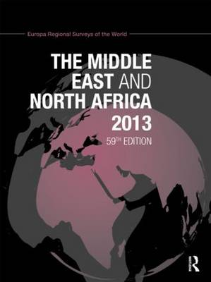 The Middle East and North Africa 2013 - Europa Publications