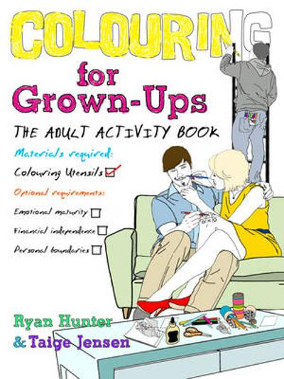 Colouring for Grown-ups - Ryan Hunter