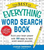 The Best of Everything Word Search Book - Charles Timmerman