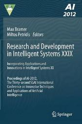 Research and Development in Intelligent Systems XXIX - Max Bramer Miltos Petridis