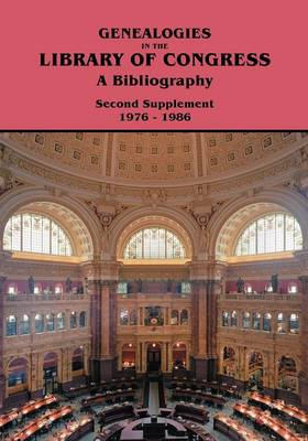 Genealogies in the Library of Congress - Library of Congress