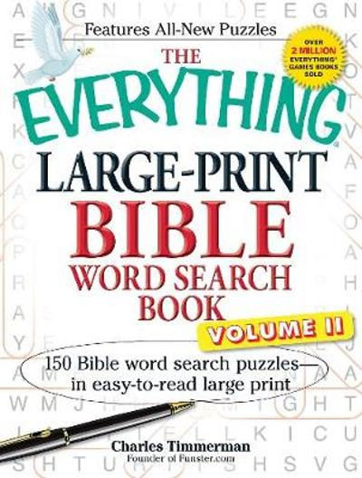 The Everything Large-Print Bible Word Search Book, Volume II - Charles Timmerman