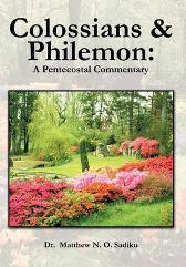 Colossians and Philemon - Dr Matthew O Sadiku