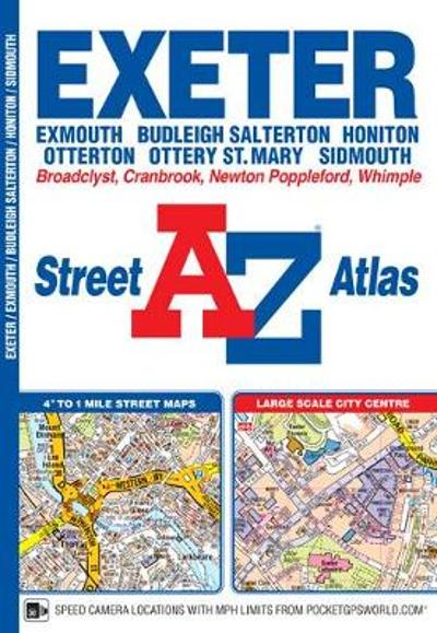 Exeter Street Atlas - Geographers' A-Z Map Company