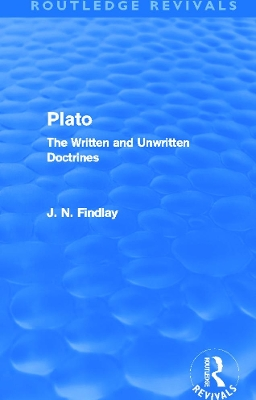 Plato - John Niemeyer Findlay