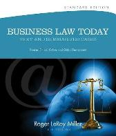 Business Law Today, Standard - Roger LeRoy Miller Gaylord A. Jentz