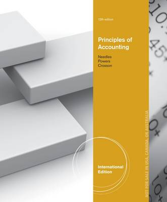 Principles of Accounting - Belverd E. Needles
