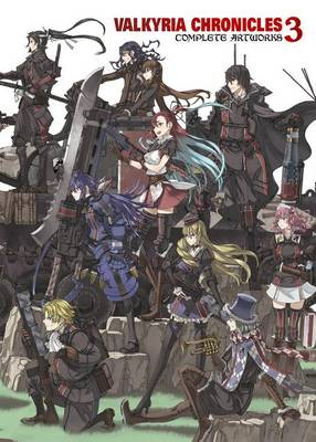 Valkyria Chronicles 3: Complete Artworks - Raita Honjou