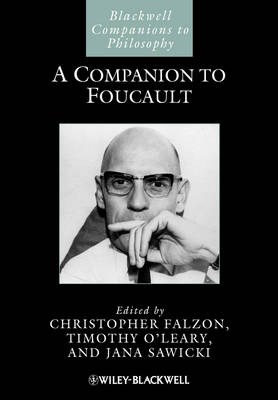 A Companion to Foucault - Christopher Falzon