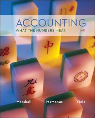 Accounting: What the Numbers Mean - Marshall, David H.