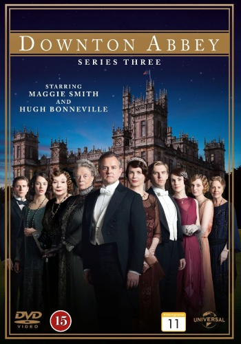 DVD Downton Abbey sesong 3 -