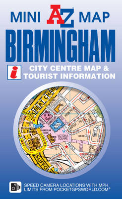 Birmingham Mini Map - Geographers' A-Z Map Company