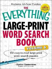 The Everything Large-Print Word Search Book, Volume VI - Charles Timmerman