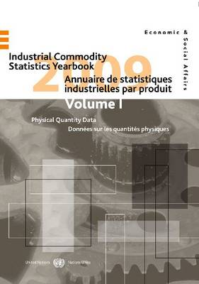 Industrial Commodity Statistics Yearbook -