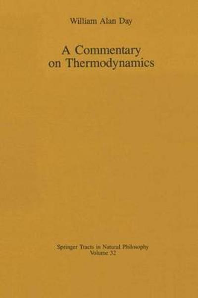 A Commentary on Thermodynamics - William A. Day
