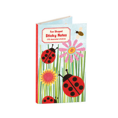 Ladybugs Shaped Sticky Notes - Betsy Thompson