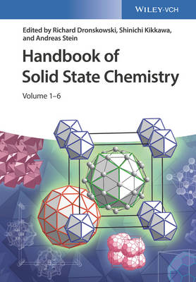 Handbook of Solid State Chemistry - Richard Dronskowski