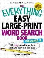 The Everything Easy Large-Print Word Search Book, Volume III - Charles Timmerman