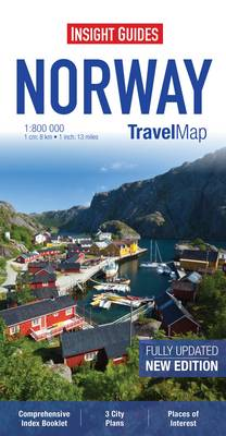 Insight Travel Map: Norway -