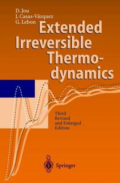 Extended Irreversible Thermodynamics - D. Jou