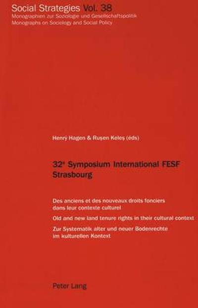 32e Symposium International FESF Strasbourg - Hagen Henry