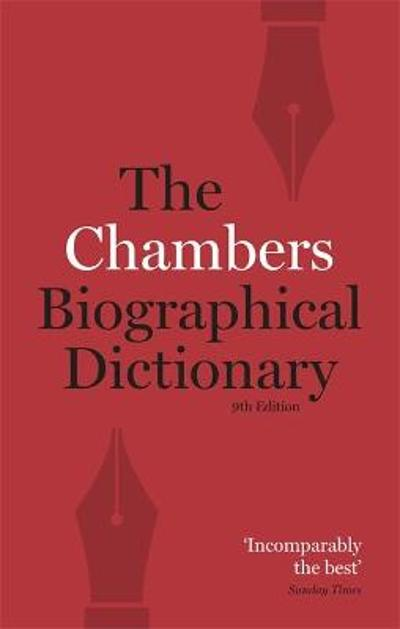 Chambers Biographical Dictionary Paperback - Chambers