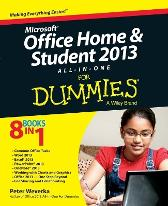 Microsoft Office Home and Student Edition 2013 All-in-One For Dummies - Peter Weverka
