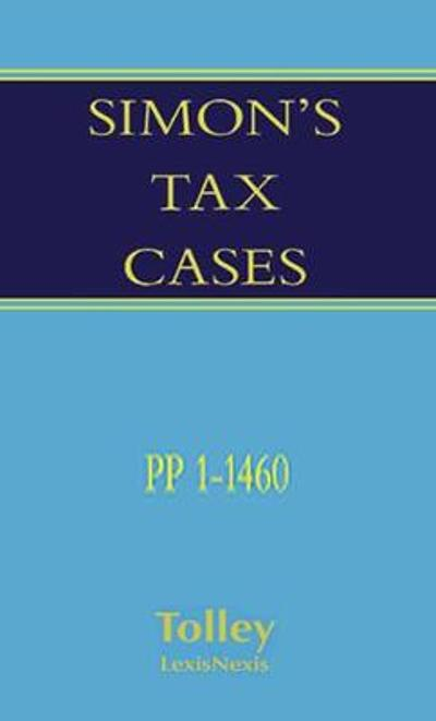 Simon's Tax Cases 1973 to date - Aaron Turpin
