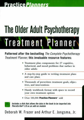 The Older Adult Psychotherapy Treatment Planner - Arthur E. Jongsma Deborah W. Frazer