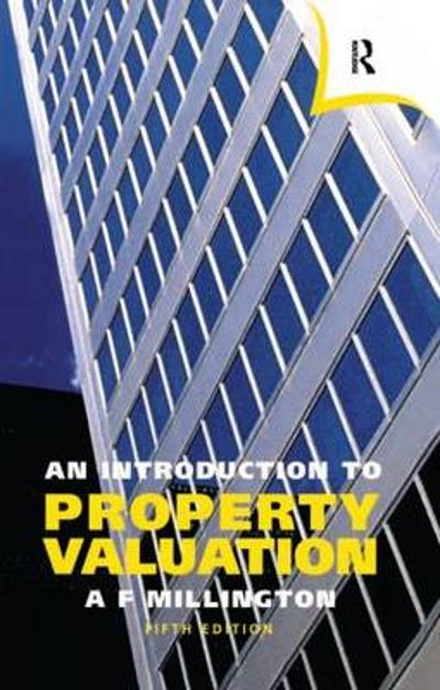 An Introduction to Property Valuation - Alan Millington