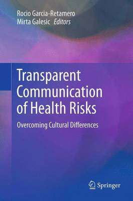 Transparent Communication of Health Risks - Garcia-Retamero, Rocio