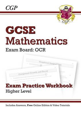 GCSE Maths OCR Exam Practice Workbook (with Answers and Online Edition) - Higher - Richard Parsons