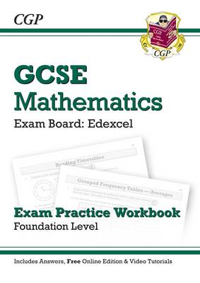 GCSE Maths Edexcel Exam Practice Workbook with Answers & Online Edn: Foundation - Richard Parsons