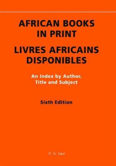 African Books in Print / Livres Africains Disponibles - Cecile Lomer