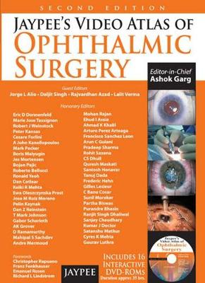 Jaypee's Video Atlas of Ophthalmic Surgery - Ashok Garg