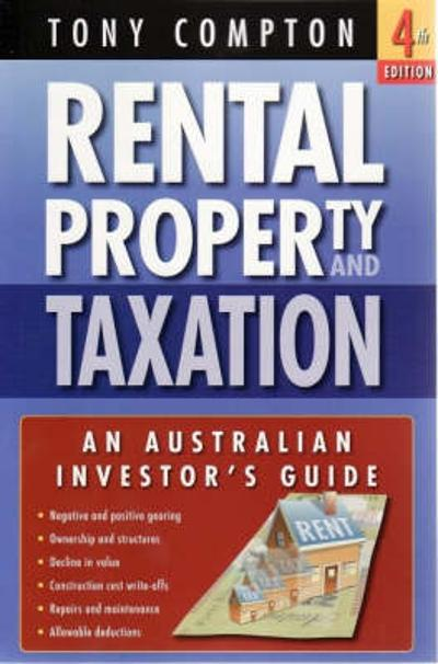 Rental Property and Taxation - Tony Compton