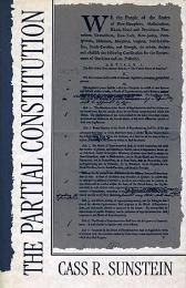 The Partial Constitution - Cass R. Sunstein
