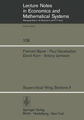 Supercritical Wing Sections II - F. Bauer