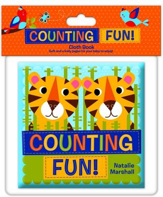 Counting Fun Cloth Book - Natalie Marshall