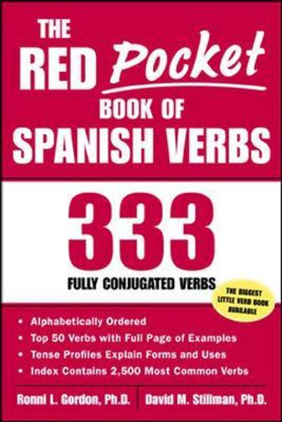 The Red Pocket Book of Spanish Verbs - Ronni L. Gordon