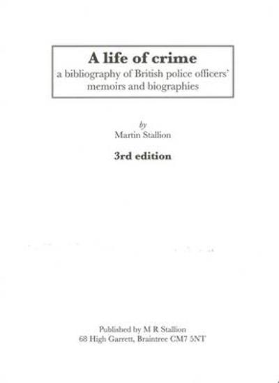 A Life of Crime - Martin Stallion